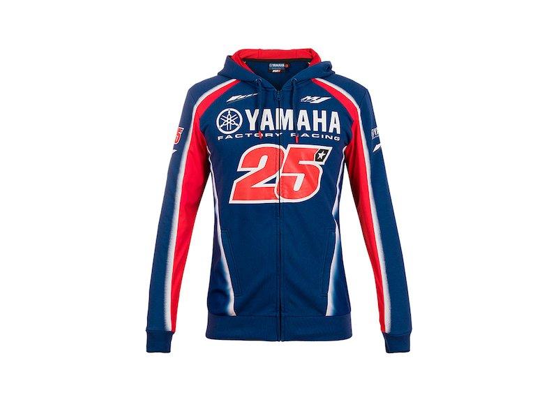 Yamaha Viñales 2018 Hoodie - White
