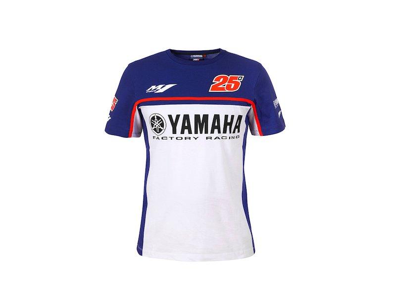T-shirt Yamaha Maverick Viñales - White