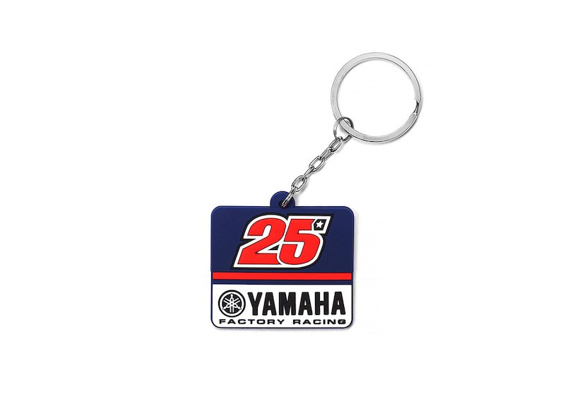 Yamaha Maverick Viñales Key ring - White
