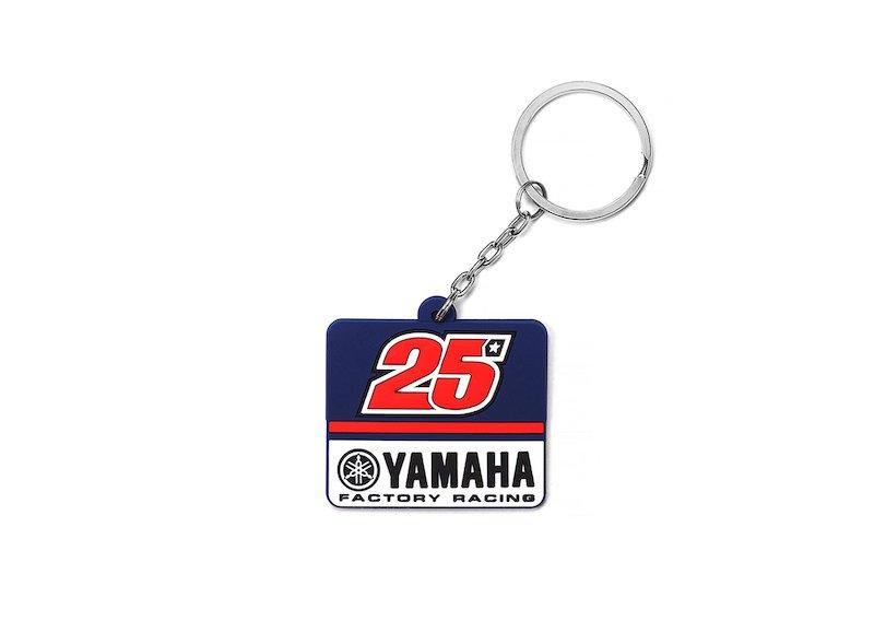 Yamaha Maverick Viñales Key ring - White