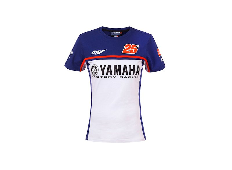 Yamaha Maverick Viñales Woman T-shirt - White