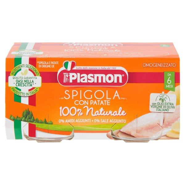 Plasmon Omogeneizzato Spigola con Patate 2 x 80 g