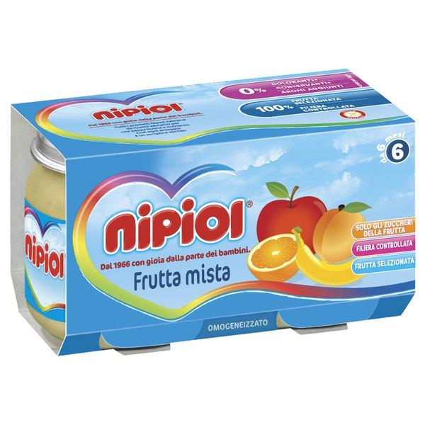 Nipiol Omogeneizzato Frutta Mista 2x120g