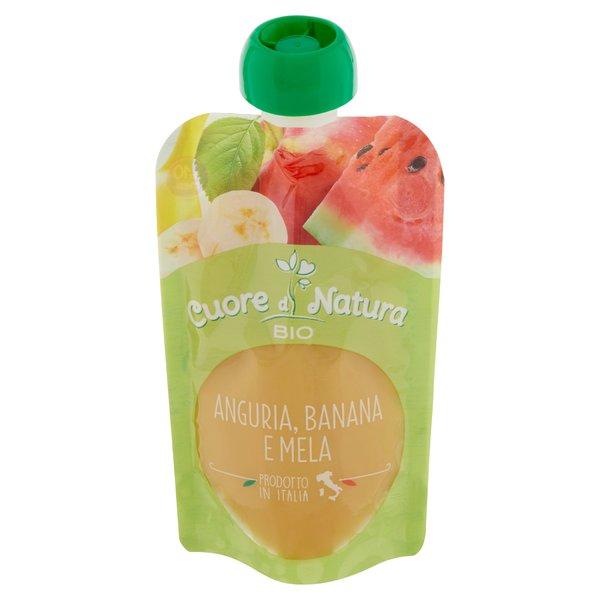 Cuore di Natura Bio Anguria, Banana e Mela 100 g