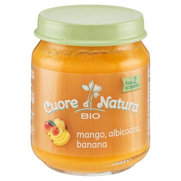 Cuore di Natura Bio mango, albicocca, banana 110 g