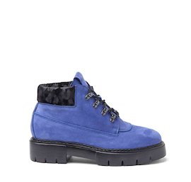 Amtrac cornflower blue nubuck boots