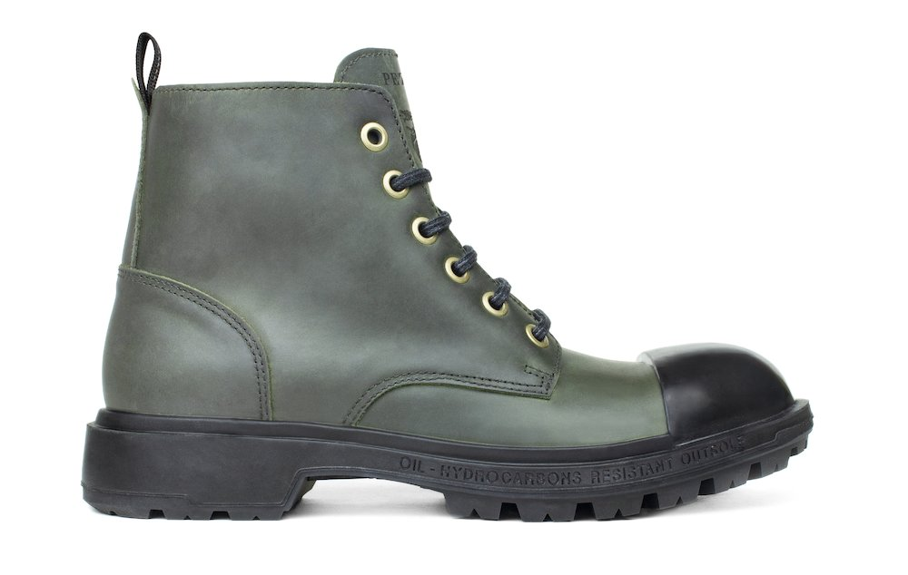 Scud® Black Label 5'' Boot Rubber - Military