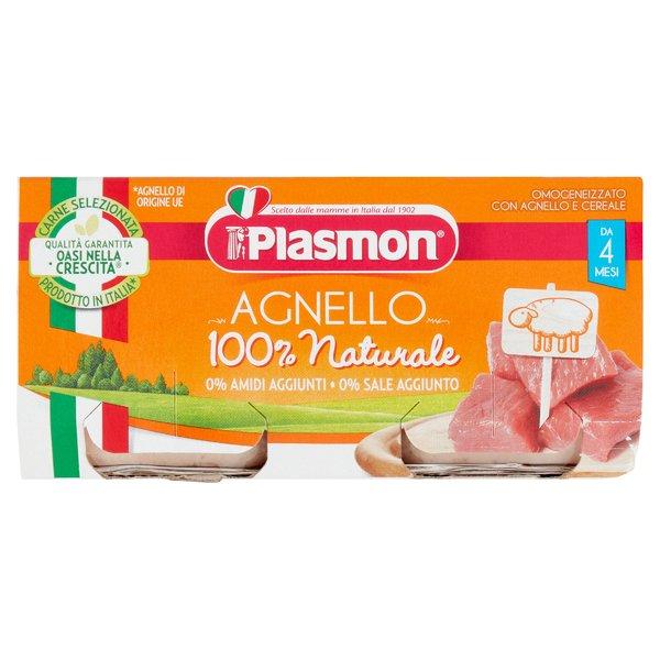Plasmon Omogeneizzato con Agnello e cereale 2 x 80 g