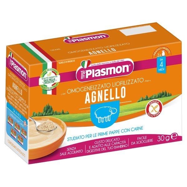 Plasmon Omogeneizzato Liofilizzato agnello 3 x 10 g