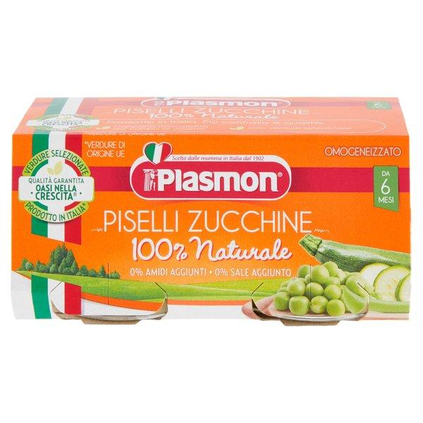 Plasmon Omogeneizzato Piselli Zucchine 2 x 80 g