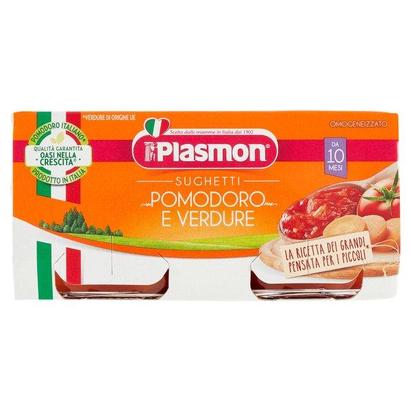 Plasmon Sughetti Pomodoro e Verdure 2 x 80 g