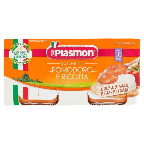 Plasmon Sughetti Pomodoro e Ricotta 160 g