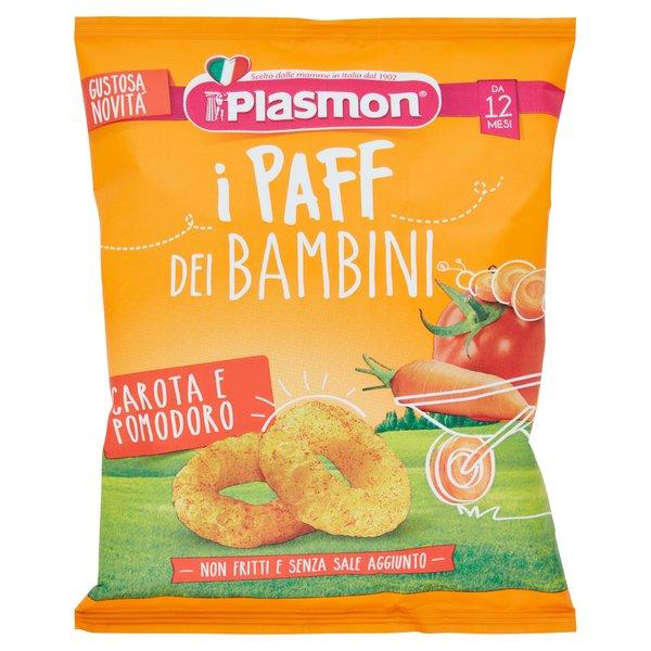 Plasmon i Paff dei Bambini Carota e Pomodoro 15 g