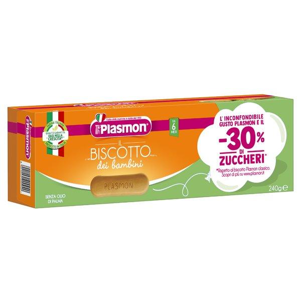 Plasmon Biscotto -30% Zuccheri