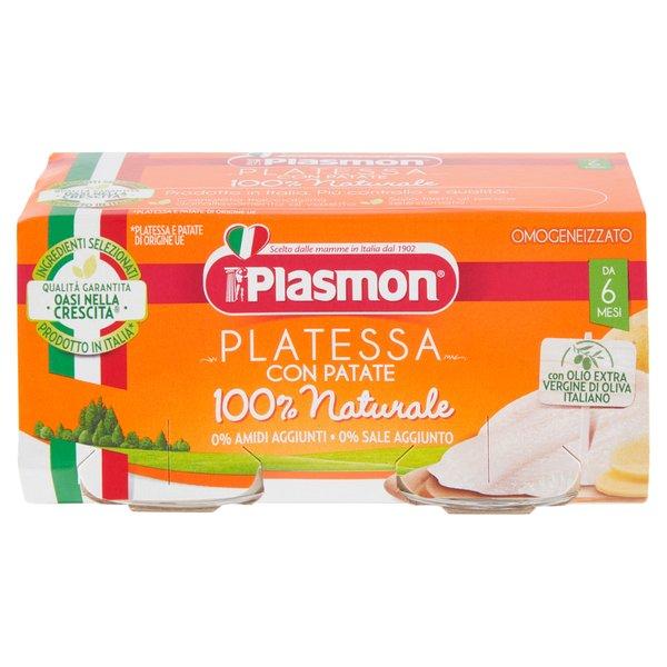 Plasmon Omogeneizzato Platessa con Patate 2 x 80 g
