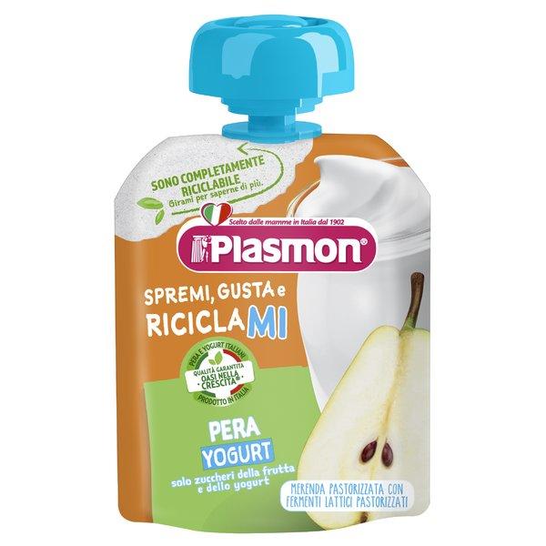 Plasmon Spremi Gusta e Riciclami Pera Yogurt 85 g