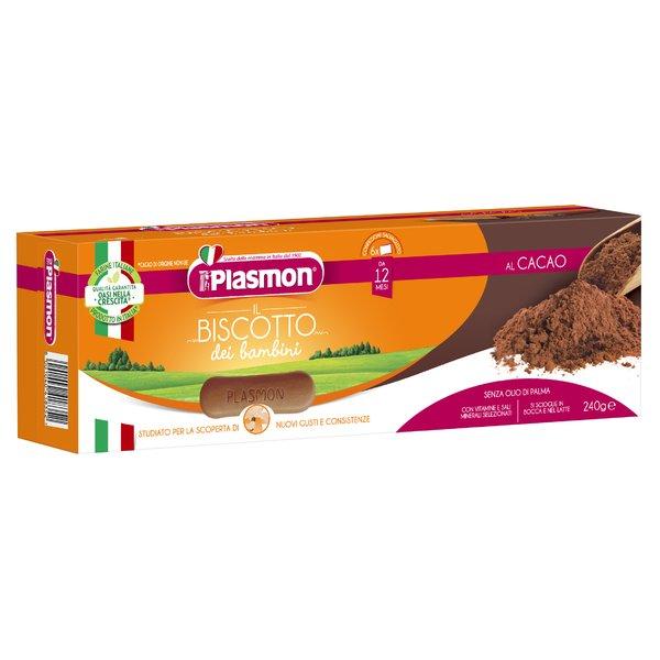 Plasmon il Biscotto dei bambini al Cacao 240 g