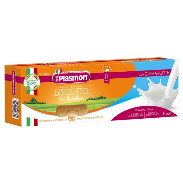 Plasmon il Biscotto dei bambini con Crema di Latte 240 g