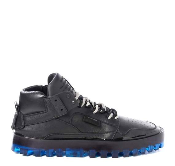 Men's Bold black and blue shoes
