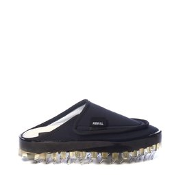 Women's BOLD slippers in breathable black technical fabric