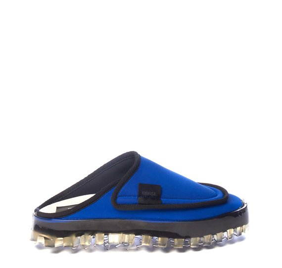Women's BOLD slippers in breathable blue technical fabric