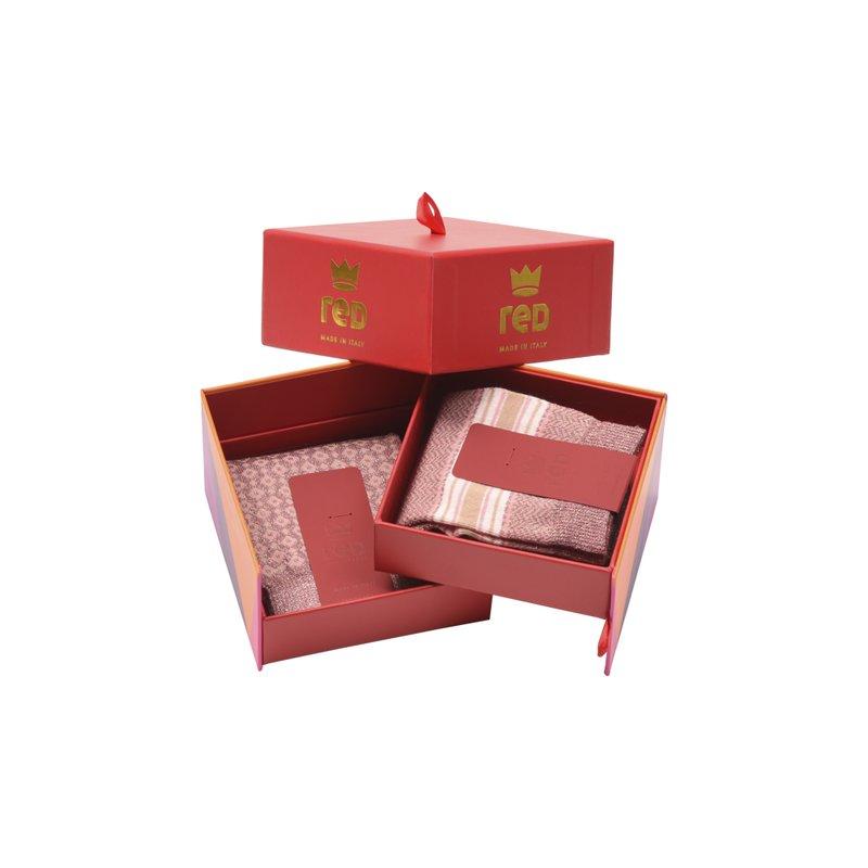 Secret box donna riga e rombi