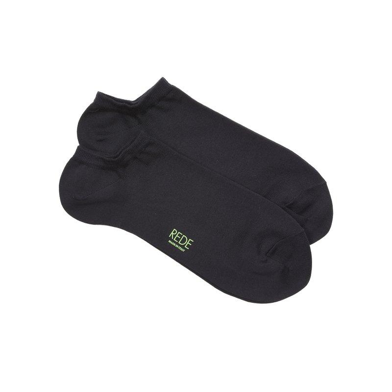 Bi-pack monocolor no-show socks