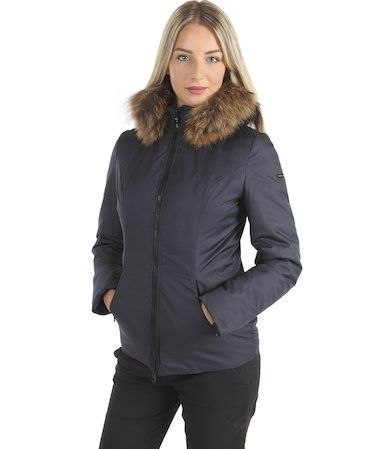SHORT WOOL REFINED JACKET