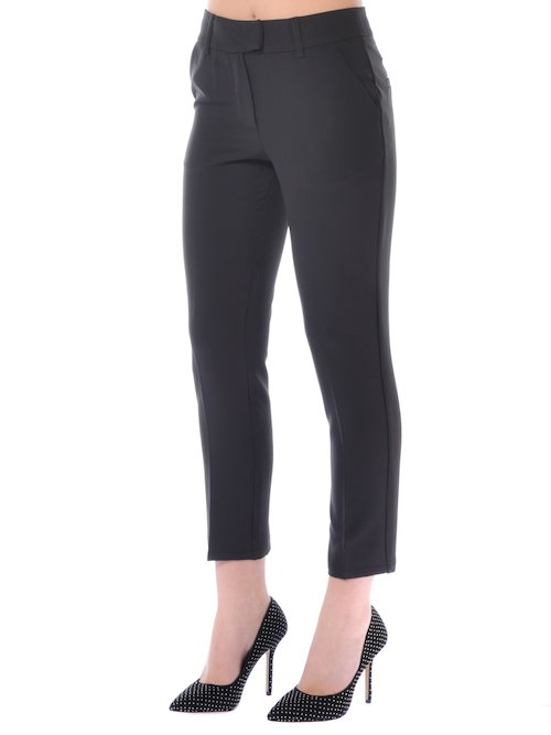 PANTALONE FASHION DONNA - Nero