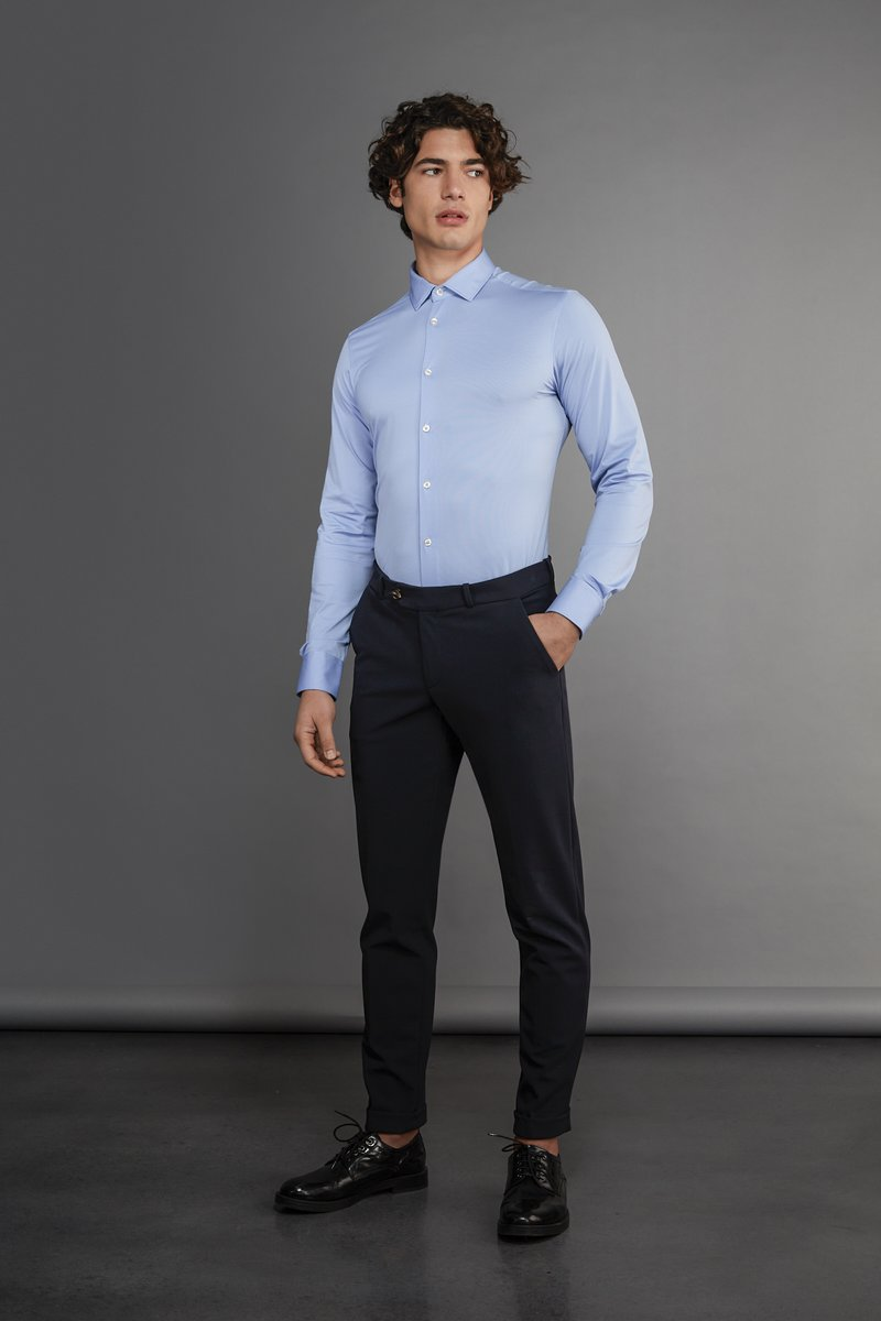 SHIRT OXFORD JACQUARD OPEN