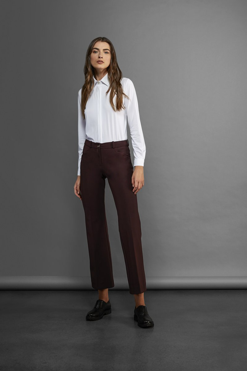 SHIRT OXFORD PLAIN LADY