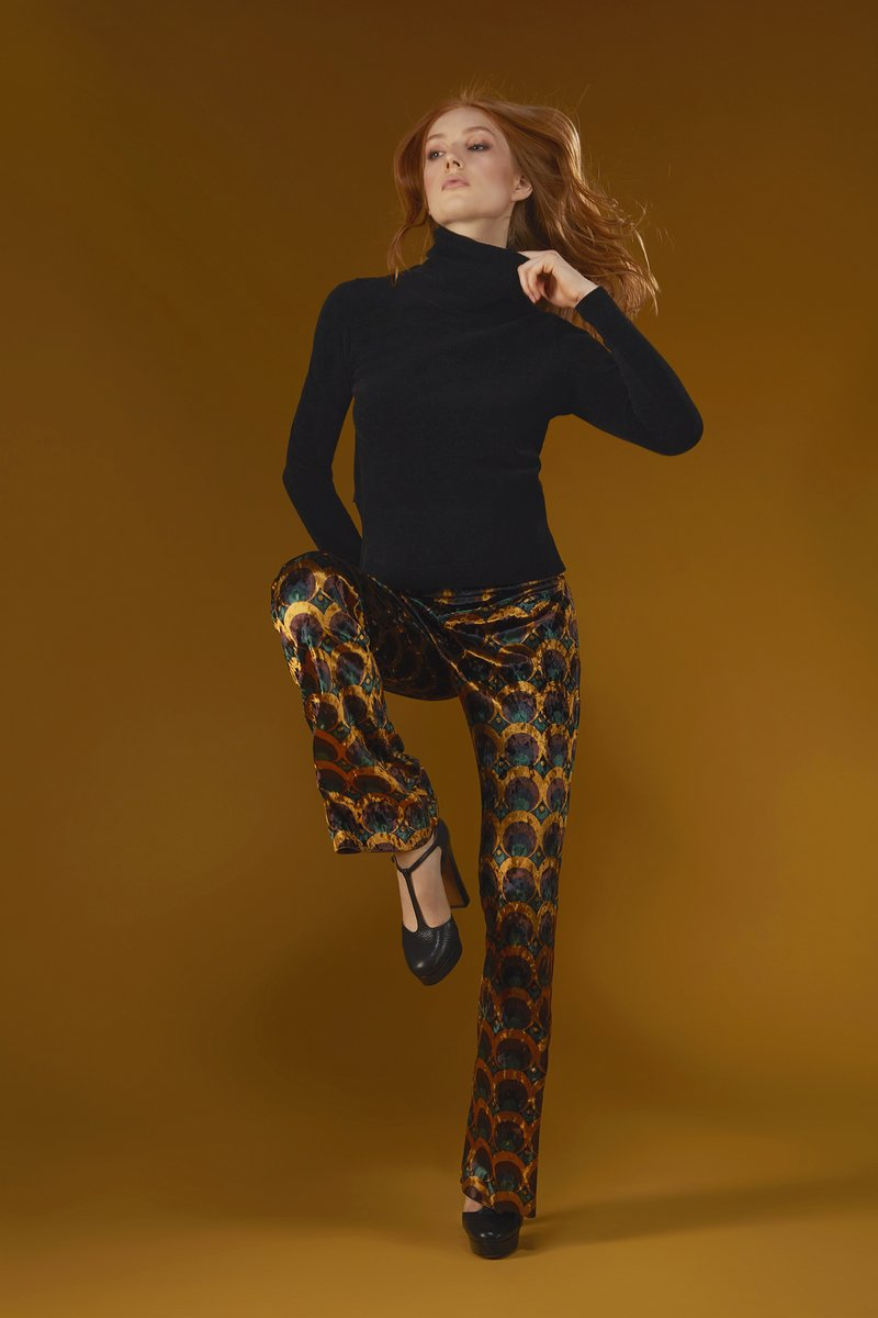 PANT 70'S FLAIR LADY