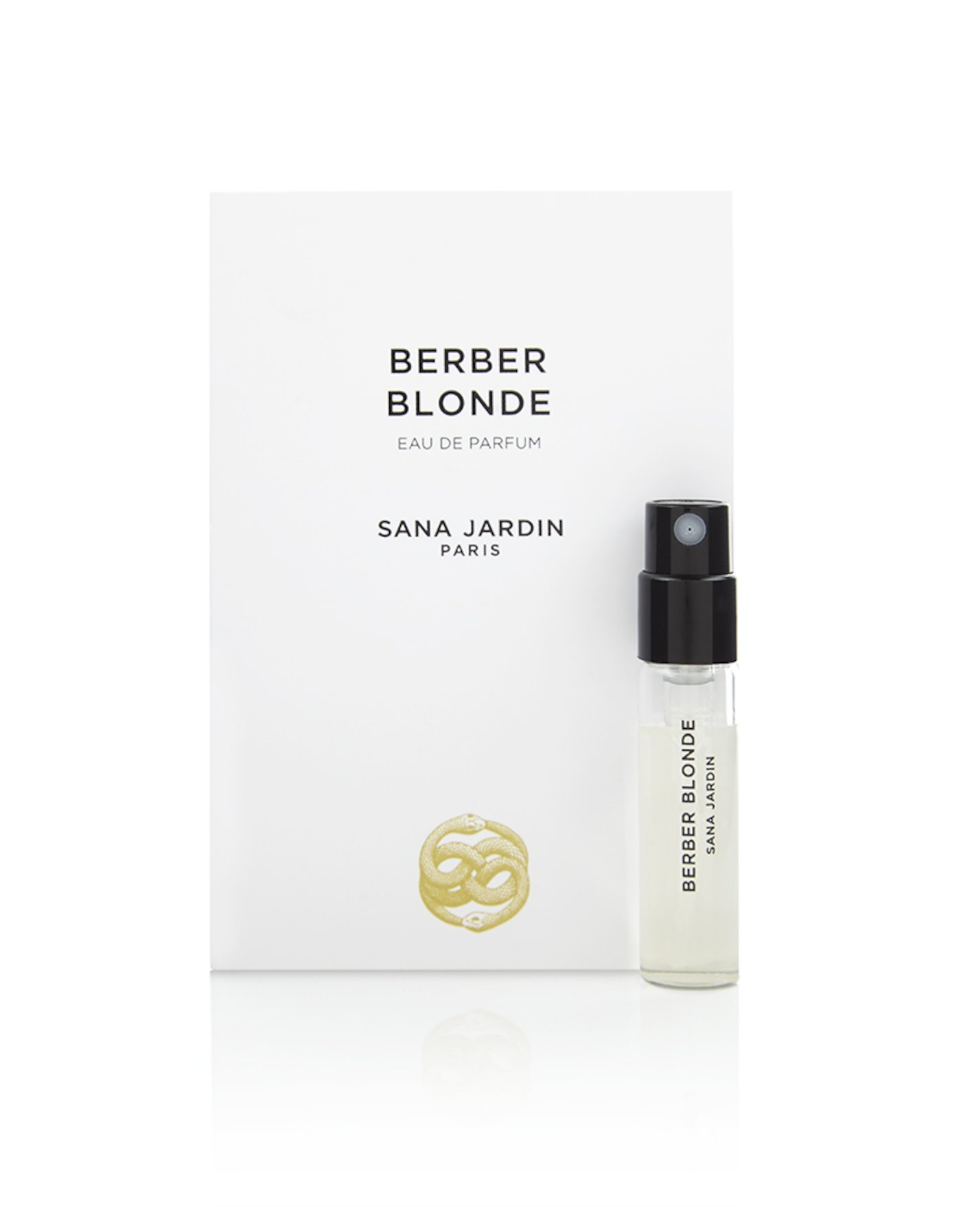 Berber Blonde 2ml in card