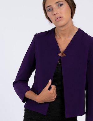 Blazer Vougue viola corto
