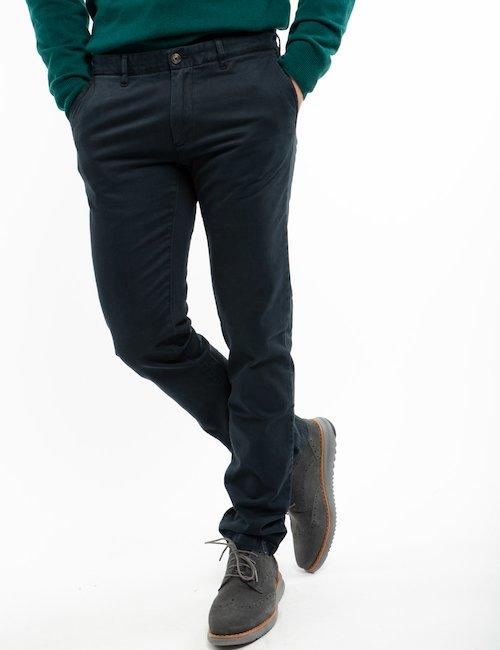 Pantalone Gant chino - Blue_Pearl