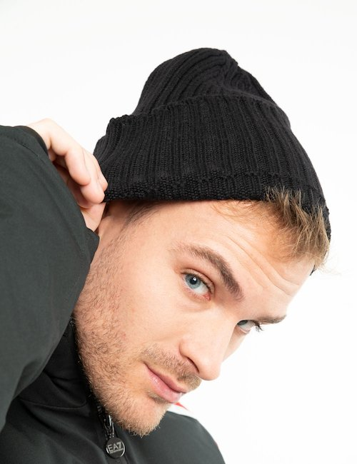 Cappello Gant in lana - Black_Bronze