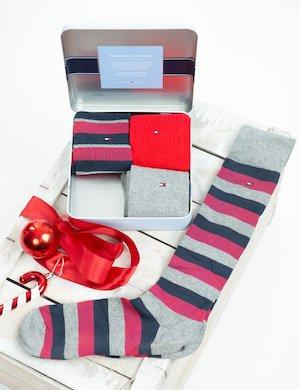 Set regalo Tommy Hilfiger 4 paia di calze