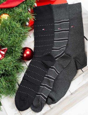 Set regalo Tommy Hilfiger tre paia di calze