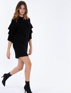 Vestito corto con balze Rue De Clerie