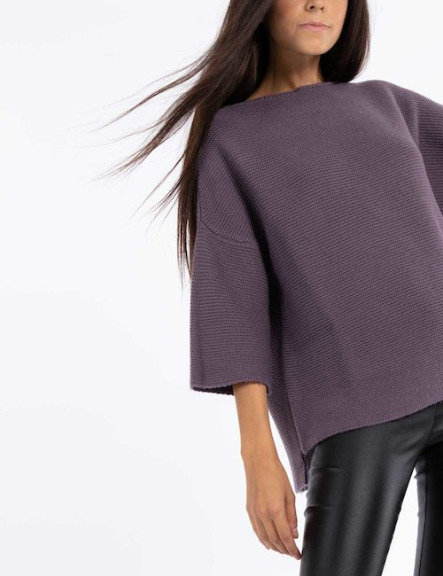 Maglia over Rue de Clerie - Purple_Yellow