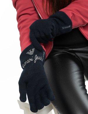 Guanto Armani Jeans con glitter