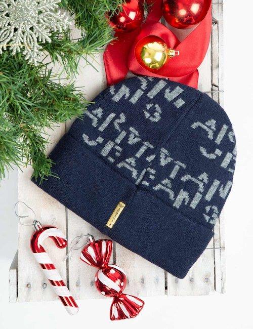 Cappello Armani Jeans bicolor - Bicolor Blu