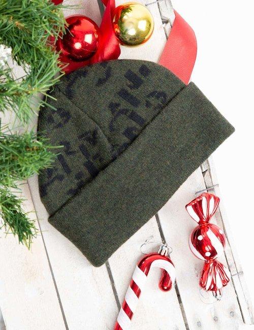 Cappello Armani Jeans bicolor - Bicolor Verde