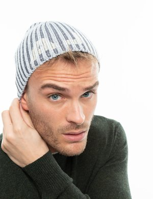 Cappello Armani Jeans a cuffietta