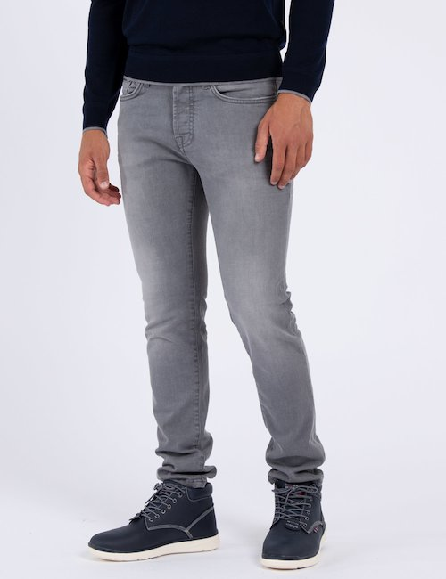 Jeans Gas skinny - Silver_Black