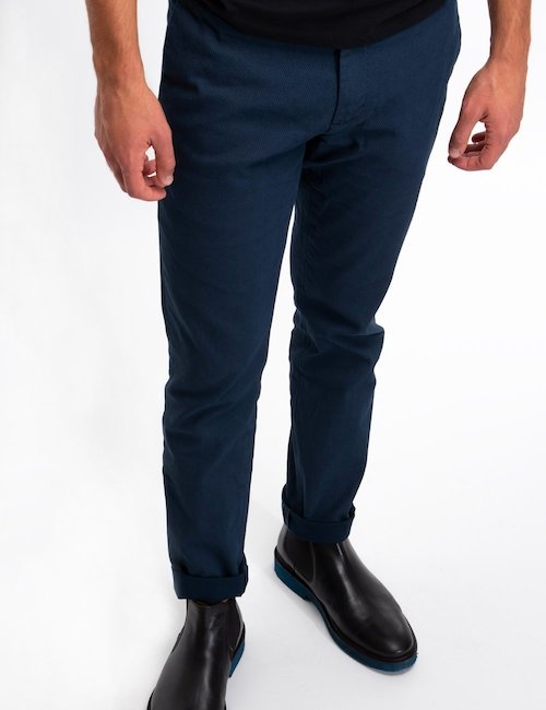 Pantalone At.p.co Chinos - Blue_Black