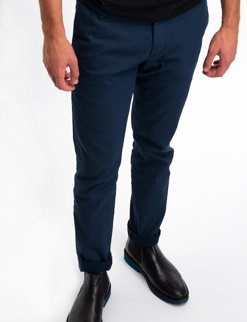 Pantalone At.p.co Chinos - Blue_Pearl