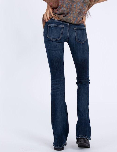 Jeans Fifty Four a zampa - Blu