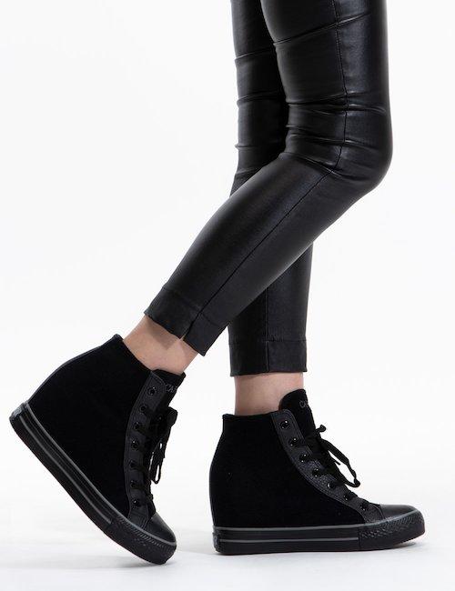 Sneaker alta Cafè Noir - Black_Bronze