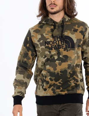 Felpa The North Face camouflage con cappuccio Cod. art DREW PEAK HJY5XP of